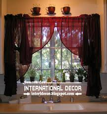 Ideas For Kitchen Window Curtains Largest Catalog Of Kitchen Curtains Designs Ideas 2016