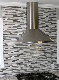 decorating elegant kitchen design ideas with grey backsplash