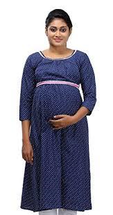 ziva maternity wear ziva maternity wear women s maternity nighty zmn 1625 m multi