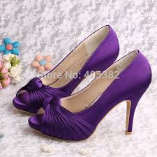 aliexpress com buy wedopus dropship party shoes purple platform