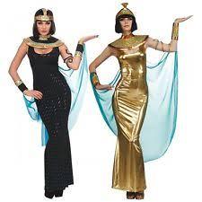 Cleopatra Halloween Costume Black Egyptian Goddess Cleopatra Womens Halloween Costume