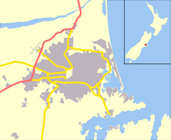New Zealand Map Belfast New Zealand Wikipedia