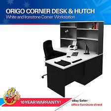 Office Corner Desk With Hutch Corner Desk L Shaped Home Office Desk Ebay