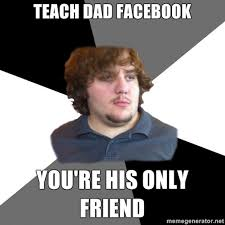 How To Put Memes On Facebook Comments - family tech support guy feels your pain