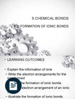 grade 9 ionic bonding ion ionic bonding