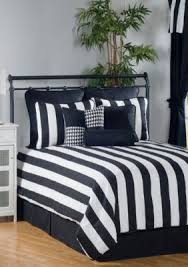 California King Black Comforter Victor Mill City Stripe California King Comforter Set 96 In X 110
