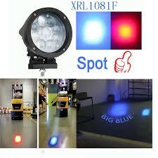 blue warning lights on forklifts xrll 27w led work l blue safety forklift point spot president