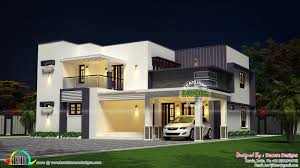 modern flat roof house plans flat roof modern 2430 sq ft house kerala home design and floor plans