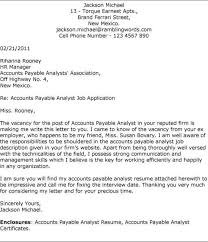 cover letter for accounts payable payroll specialist cover letter