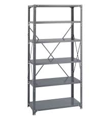 Shelving Units Amazon Com Commercial 6 Shelf Shelving Unit Starter Size 75