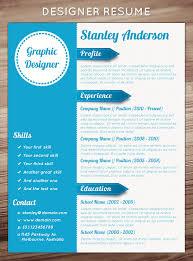 artistic resume template 21 stunning creative resume templates
