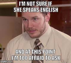 English Student Meme - my out of town cousin is hosting an exchange student they came to