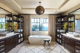Bathroom Suites With Shower Baths by 22 Luxury Bathrooms In Celebrity Homes Photos Architectural Digest