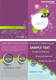 brochure templates adobe illustrator brochure templates free vector in adobe illustrator ai ai