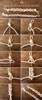 diy bracelet rope images Thanks i made it diy rhinestone rope bracelet png