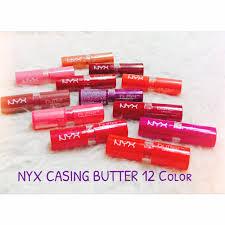 Lipstik Nyx Replika lipstik nyx ori matte butter lipstick nyx butter 100 matte