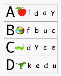 match letter to picture worksheets prime photos unlimited