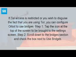 how to configure orbot on android how do you use orbot
