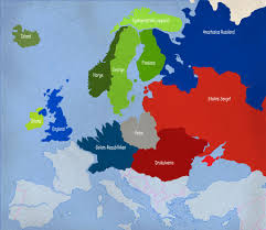 Alternate History Maps Alternate History Post Occult Wwii Part Ii