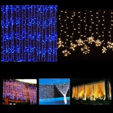 8 function multi color led christmas lights 6x3m 3x3m 300 600 led lights curtain string fairy lights home xmas