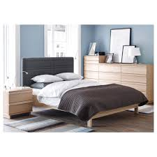 oppland bed frame queen lönset slatted bed base ikea