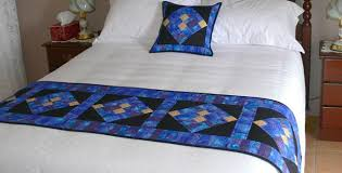 add a quick splash of color with a bed runner quilting digest