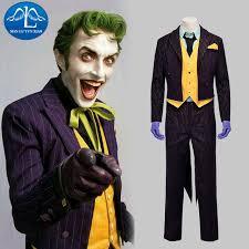 Asylum Halloween Costumes Aliexpress Buy Manluyunxiao Men Costume Batman Arkham Asylum