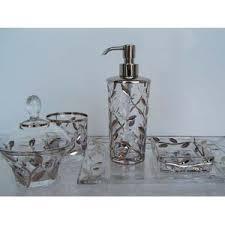 crystal silver vine accessories