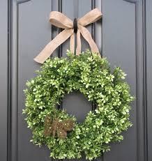 door wreath home design by john