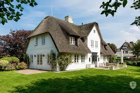 exclusive frisian house on the island of sylt in keitum germany