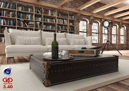 Loft 40 Living Room Loft C4d R18 Vrayforc4d 3 40 3d Model C4d
