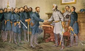 file general robert e lee surrenders at appomattox court house 1865 jpg