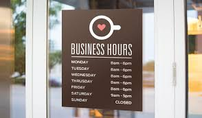 stickers for glass doors hours stickers stickeryou products