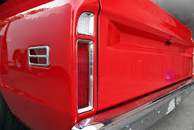 2004 Silverado Tail Lights 1967 72 Gm Truck Billet Led Tail Lights With Reverse Digi Tails