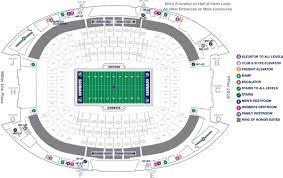 stadium maps attstadium
