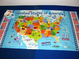 United State Of America Map by Usa Table Cloth United States Of America Map United States