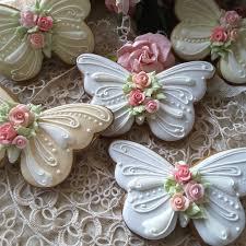 butterfly cookies birthday cookies cookies with roses flower