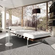 canape barcelona mies der rohe barcelona mies der rohe lit de jour banquettes daybed and