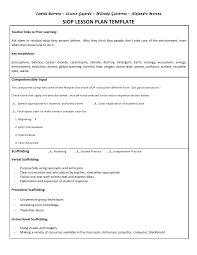 siop unit lesson plan template sei model jitha pinterest