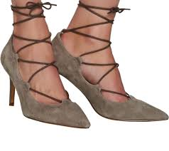 sole society suede pointed toe lace up pumps madeline page 1