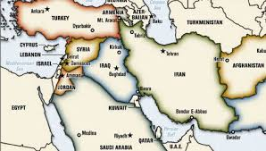 middle east map and capitals plumb bob middle east