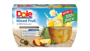 dole fruit bowls dole launches fruit bowls