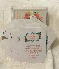 card deck with conversation starters for thanksgiving
