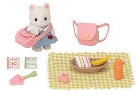 Sylvanian Families Garden Sylvanian Families Nursery Party Set Amazon Co Uk Toys U0026 Games