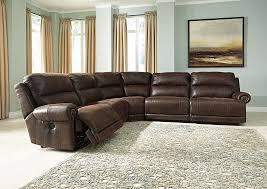 zero wall clearance reclining sofa southside furniture luttrell espresso zero wall reclining sectional