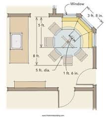Woodworking Plans Kitchen Nook by Breakfast Nook Idea Build A Half Wall To Divide Dining Room If