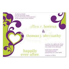 Wedding Invitations Purple Do It Yourself Wedding Invitation Kits Printable Wedding