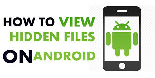 on android to view files and folders on android mobiles