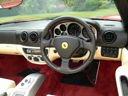 Ferrari 360 Interior Ferrari 360 Spider F1 2002 Shmoo Automotive Shmoo Automotive