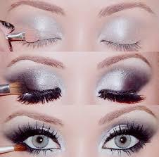 maquillage mariage yeux bleu maquillage best wedding argent smokey maquillage des yeux